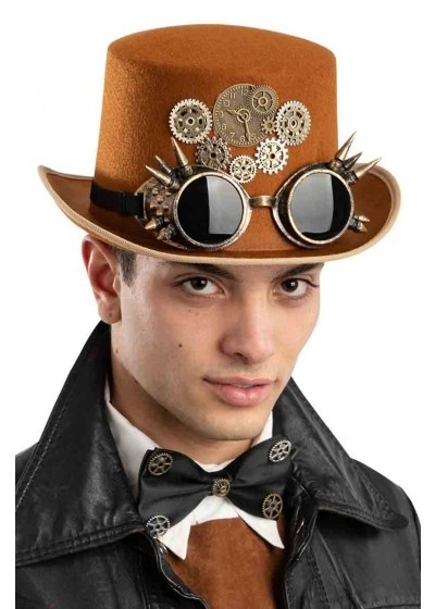 CILINDER STEAM PUNK RJAVI